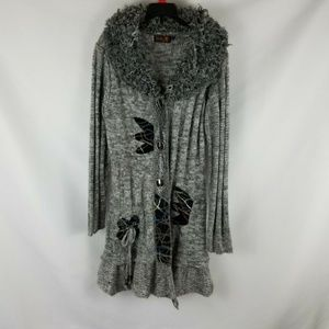 Tivoli Cardigan Women's Size Small Wool Blend